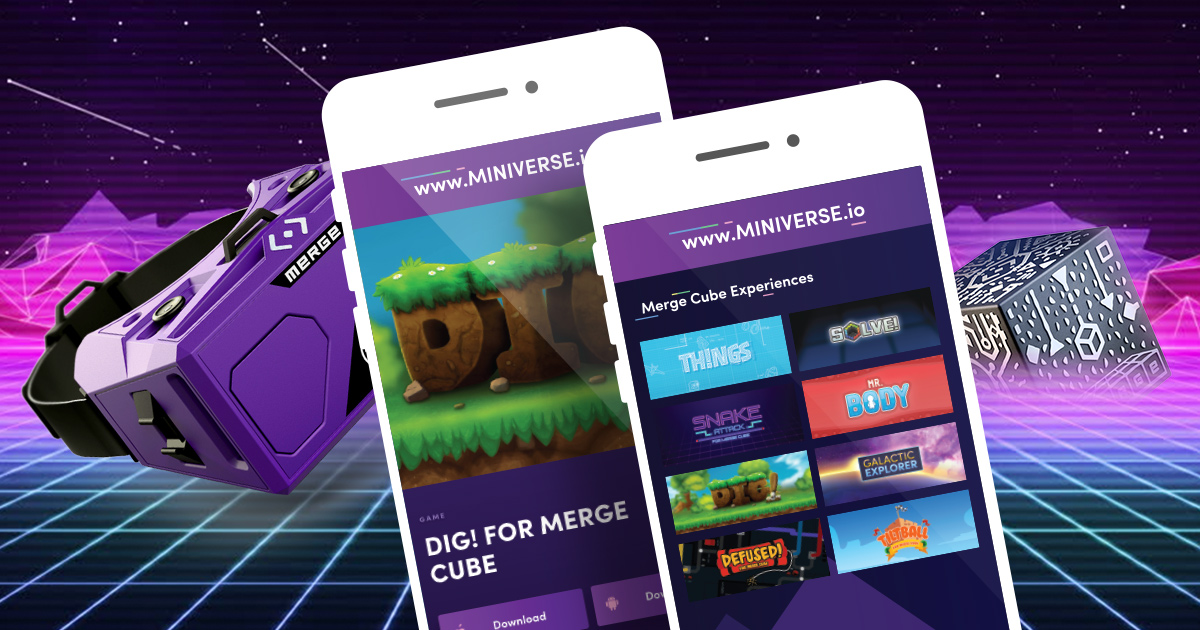 MERGE Miniverse | VR AR Apps Experiences curated by MERGE